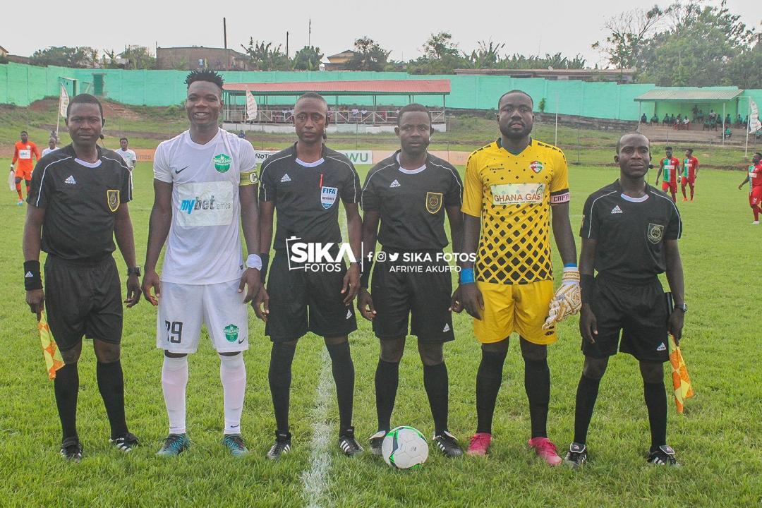 Match Officials for GPL Week 15