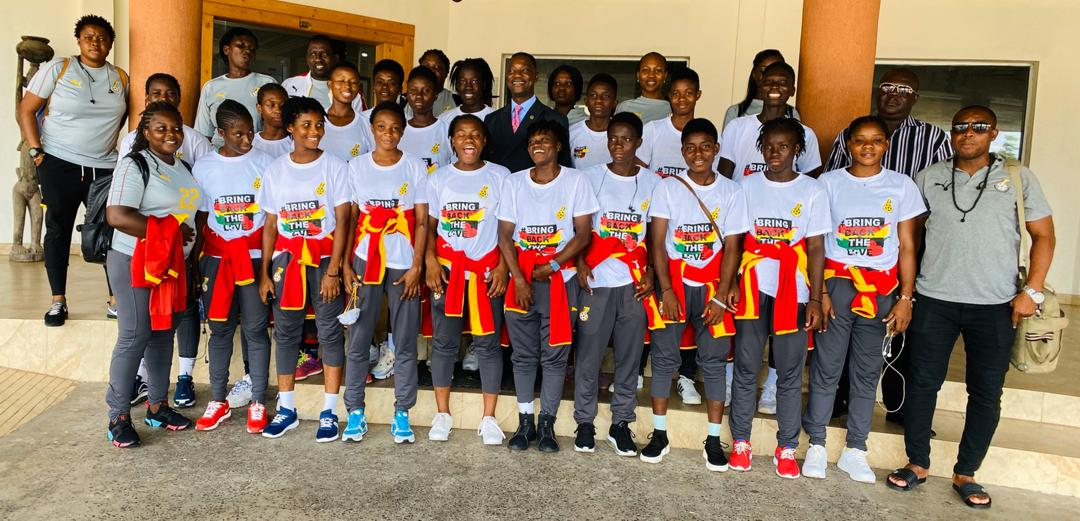 Black Maidens arrive in Ghana after defeating Liberia
