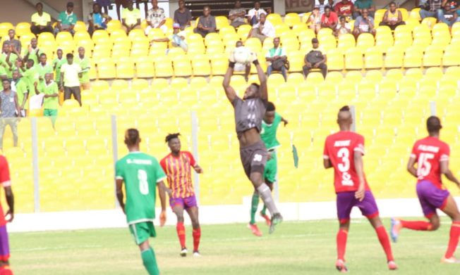 Resilient Elmina Sharks hold Hearts of Oak in Accra