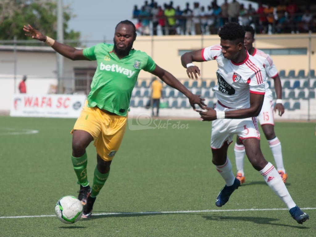WAFA pipped 1-0 at home by Aduana Stars