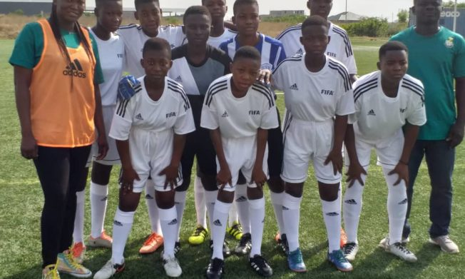 CAF U-15 Seven aside football competition held in Prampram