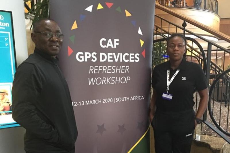 Duncan, Fugah in South Africa for CAF Workshop