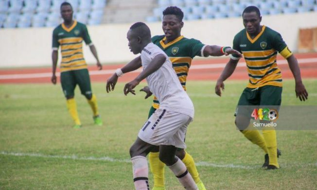Dwarfs, Inter Allies share spoils in barren draw