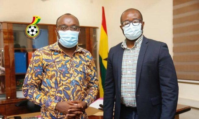 GFA President holds positive talks with Scholarships Secretariat