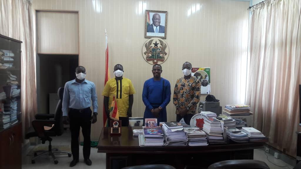 Central RFA Executives call on Regional Minister