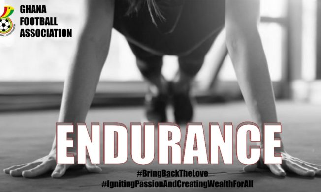 Endurance - theme for the month of June