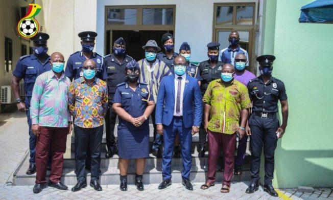 GFA hosts high-powered Ghana Police delegation