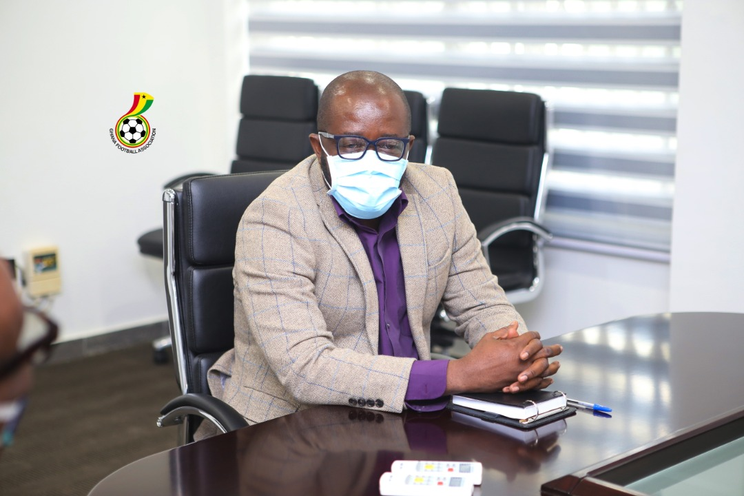 GFA Venue Media Officers interact with President