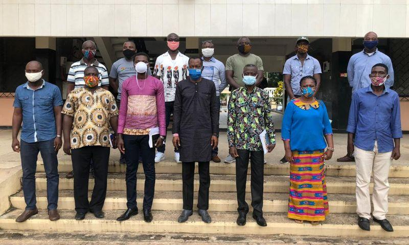 Volta RFA Executives call on Regional Minister