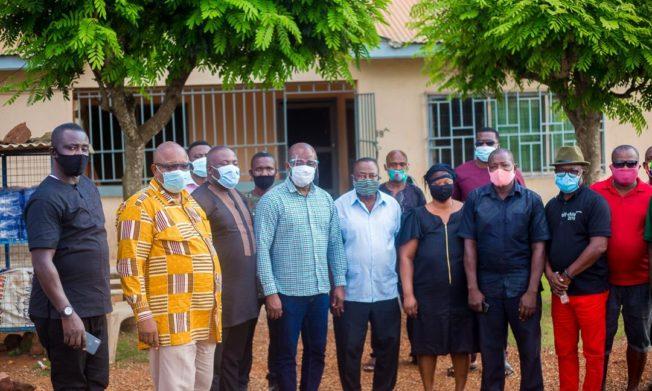 GFA delegation commiserates with late Kwasi Owusu's family