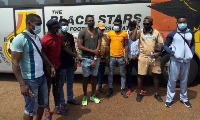 UPDATE: Ghanaian players released after mandatory quarantine