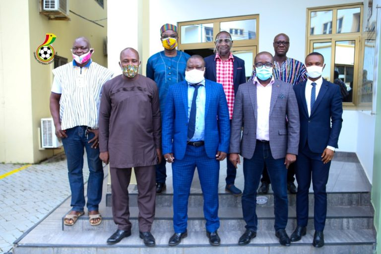 GUSA Executives call on Ghana Football Association