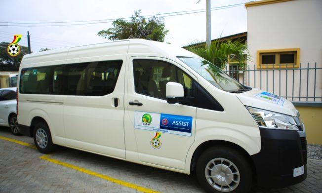 GFA outdoors Grassroots Coaching Mini Van