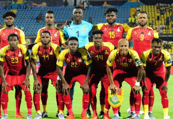Black Stars remain unmoved in latest FIFA rankings