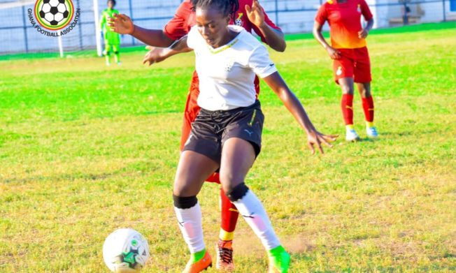 Black Princesses defeat Maidens in friendly encounter