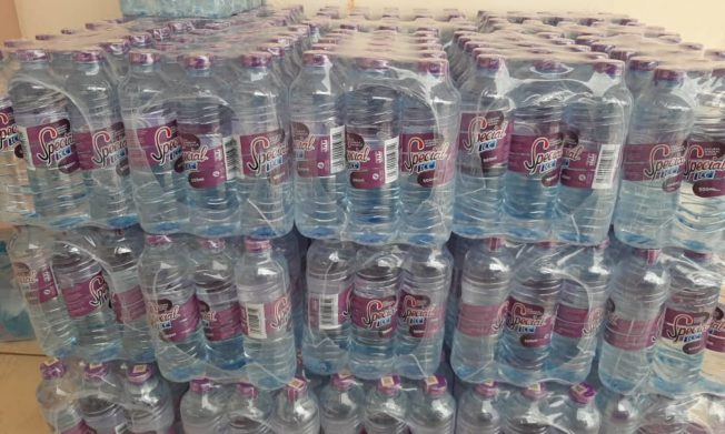 Black Satellites, Starlets receive water donation from Special Ice
