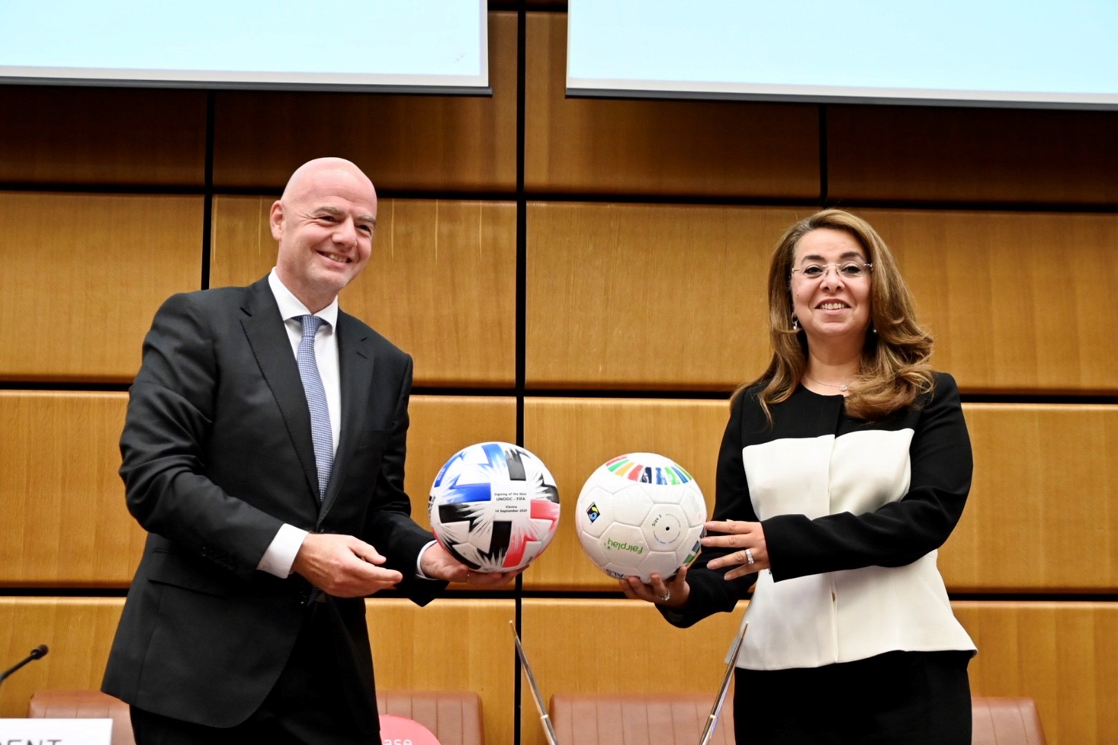 PRESS RELEASE - UNODC, FIFA partner to kick out corruption and foster youth development through football