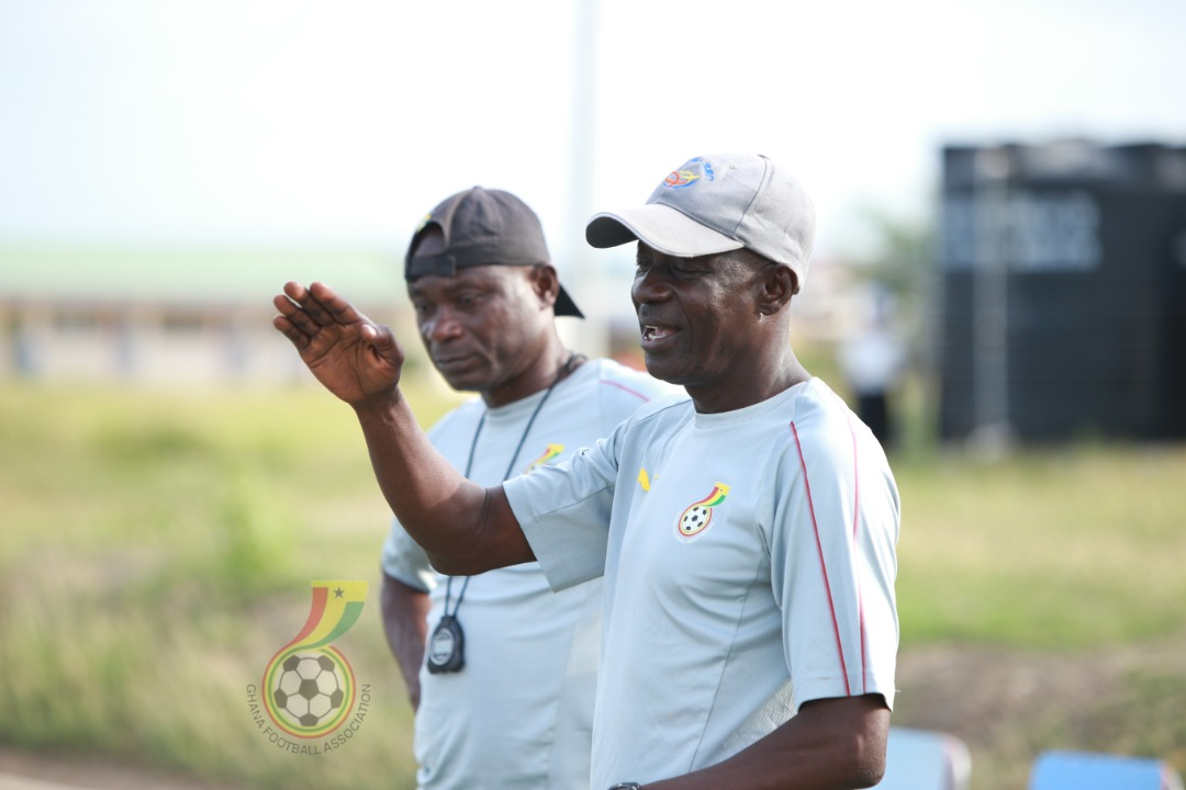 Coach Ben Fokuo reacts to WAFU U-17 Qualifying draw