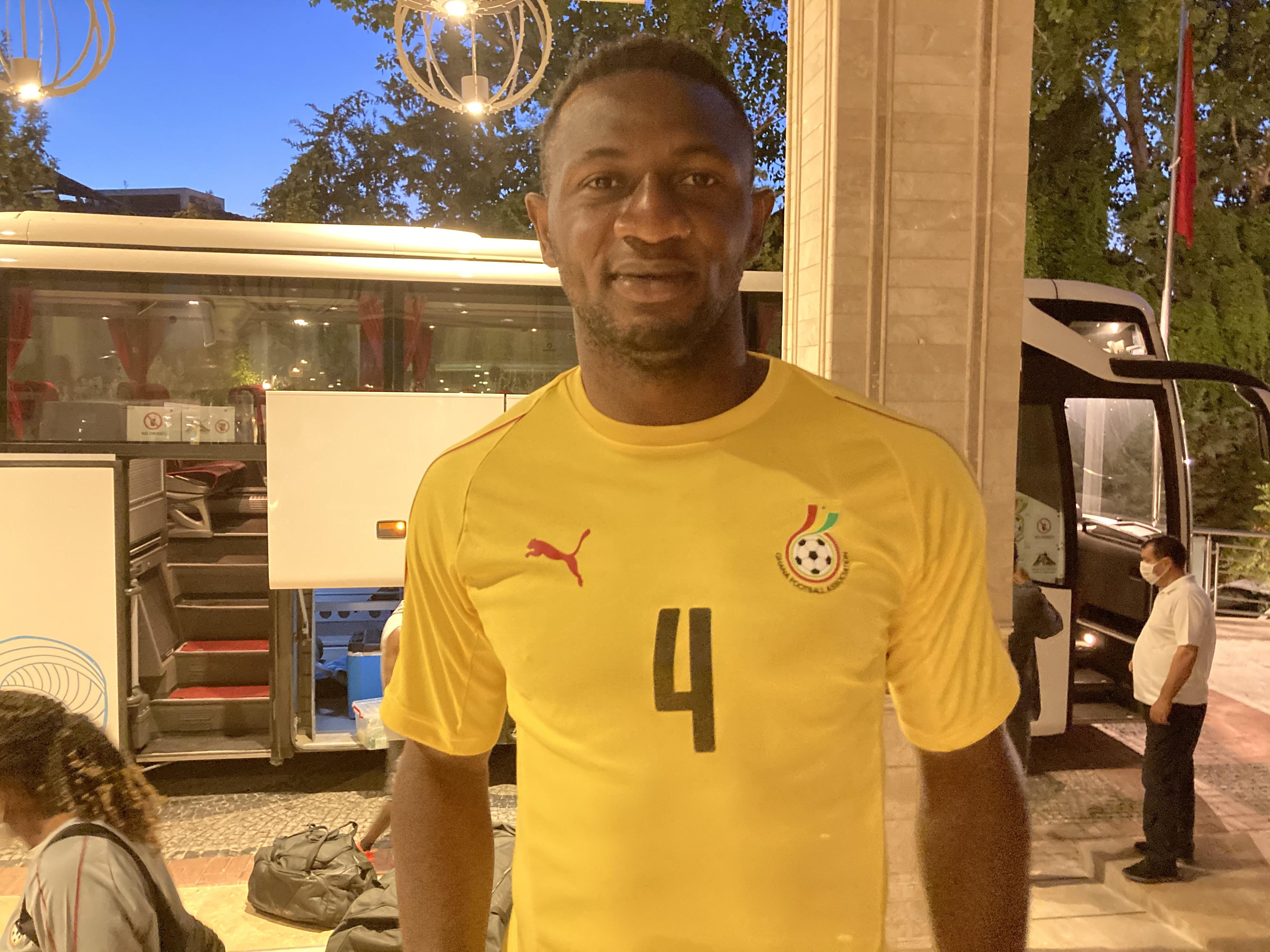 Nicholas Opoku likely to miss Qatar game