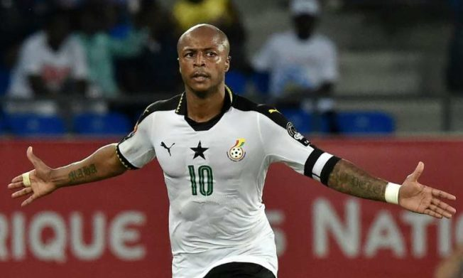Update: Captain Andre Ayew latest to join Black Stars camp in Antalya