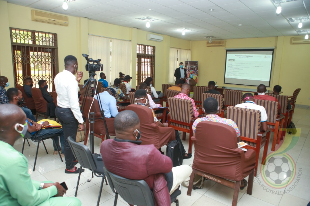 GFA holds successful FIFA Connect Training for registered Beach Soccer Clubs