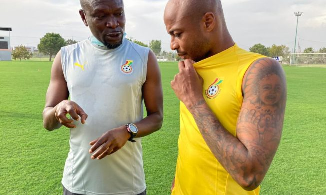 Update: Ghana continues preparation for Mali, Qatar: Day Two Pictures