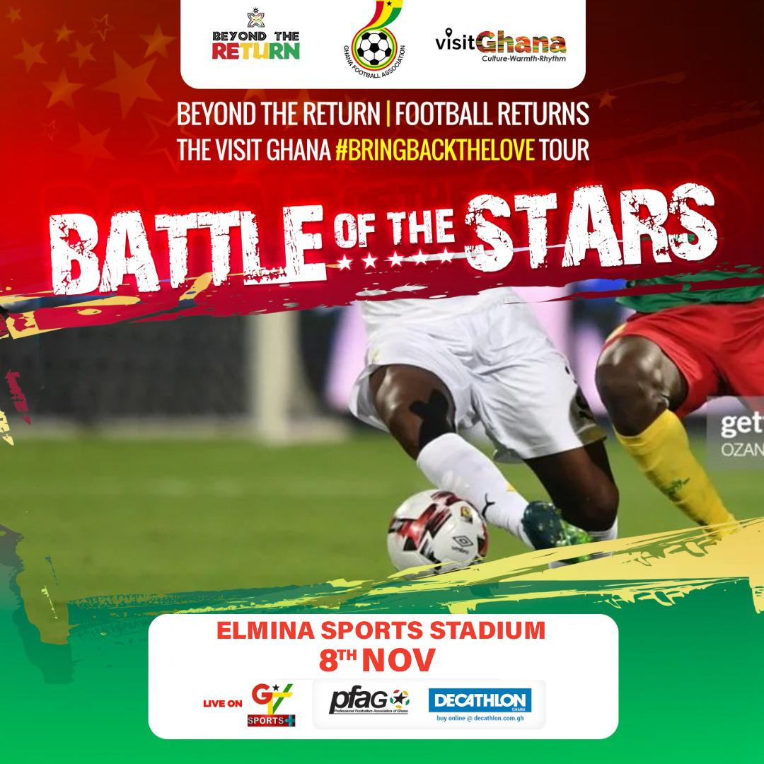 'Battle of the Stars' game moved to Elmina