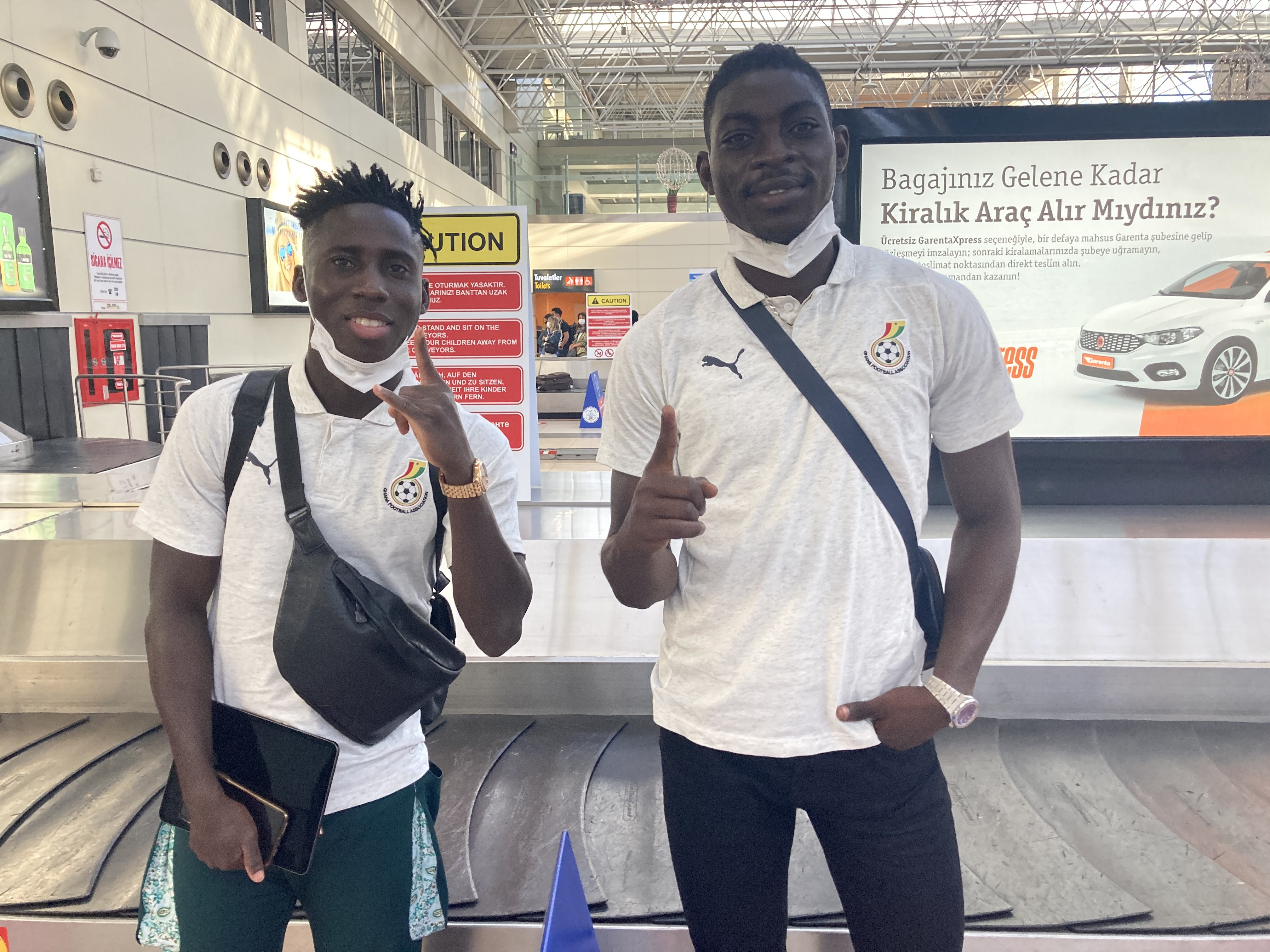 C.K Akonnor, George Amoako, others, land in Antalya for friendly games