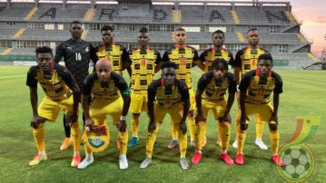 Ghana drops two places in latest FIFA rankings