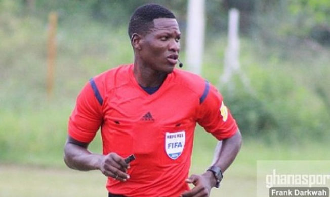 Daniel Laryea ranked among top 20 professional referees in Africa