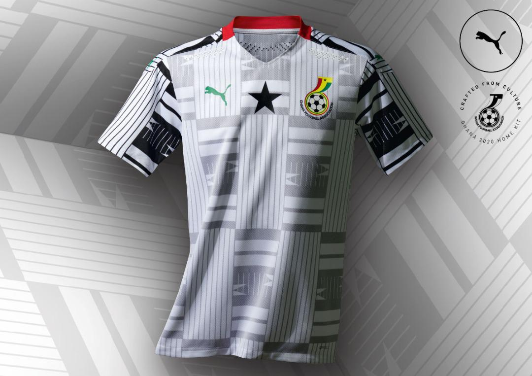 PUMA outdoors Ghana's new kits for 2020/2021