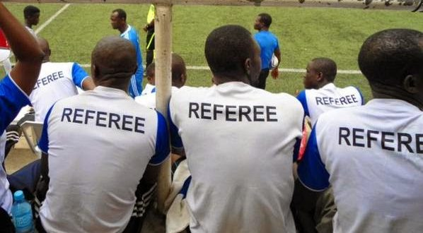 Three omitted from List of Referees for fitness tests
