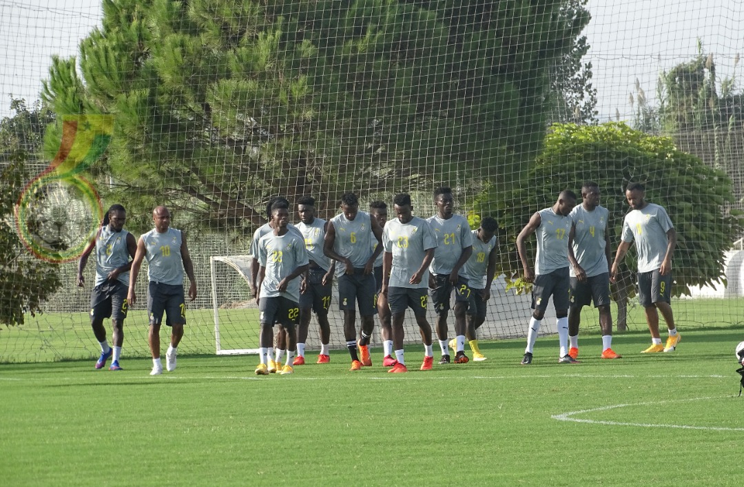 Update: Ghana holds first training in Antalya, Turkey: PICTURES