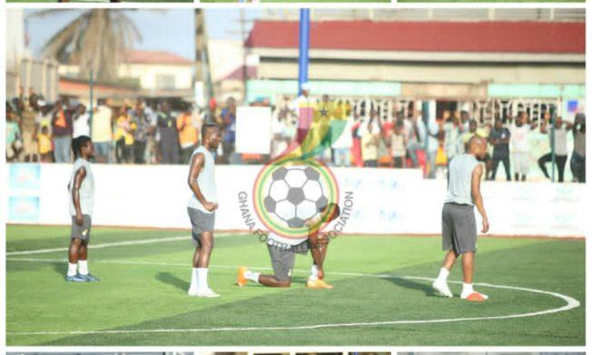 Ten players train ahead of Sudan clash