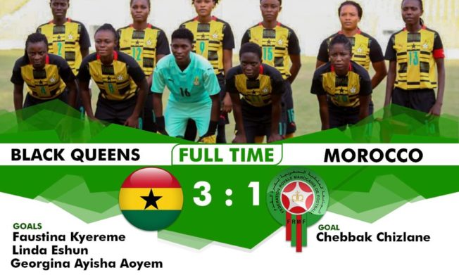 Black Queens ease pass Morocco 3-1 in international friendly