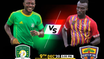 New date for Aduana Stars vs Hearts of Oak announced