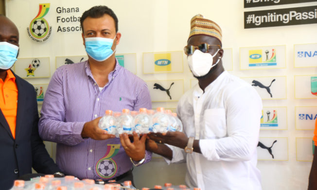 Black Stars receive 400 cartons of X Natural Mineral water ahead of Sudan clash