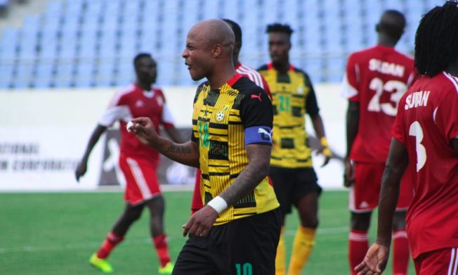 Andre Ayew ruled out of Sudan trip