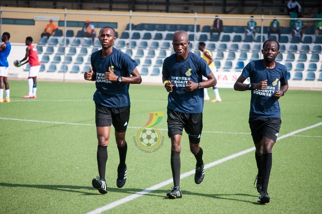 Match Officials for Ghana Premier League Matchweek Three