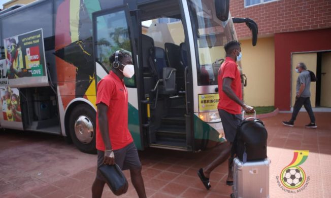 Black Stars depart Accra Sunday for Sudan
