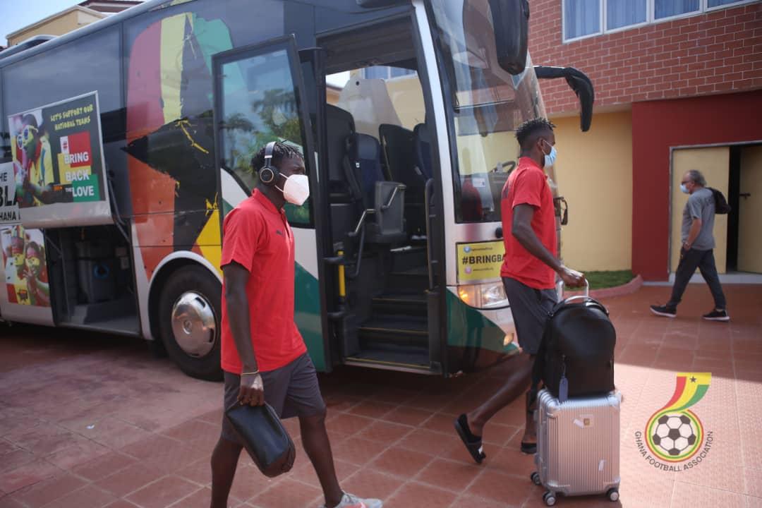 Black Stars depart Accra Sunday for Sudan