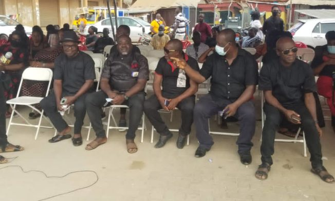 GFA top officials attend funeral of late Kwasi Owusu