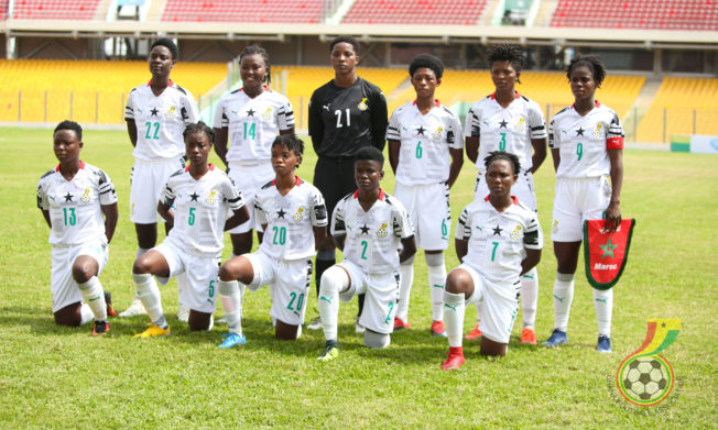 Pictures: Ghana (Black Princesses) 0 - Morocco 1