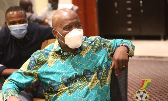 Ghana's ambassador to Egypt visits Black Stars ahead of Sudan qualifier