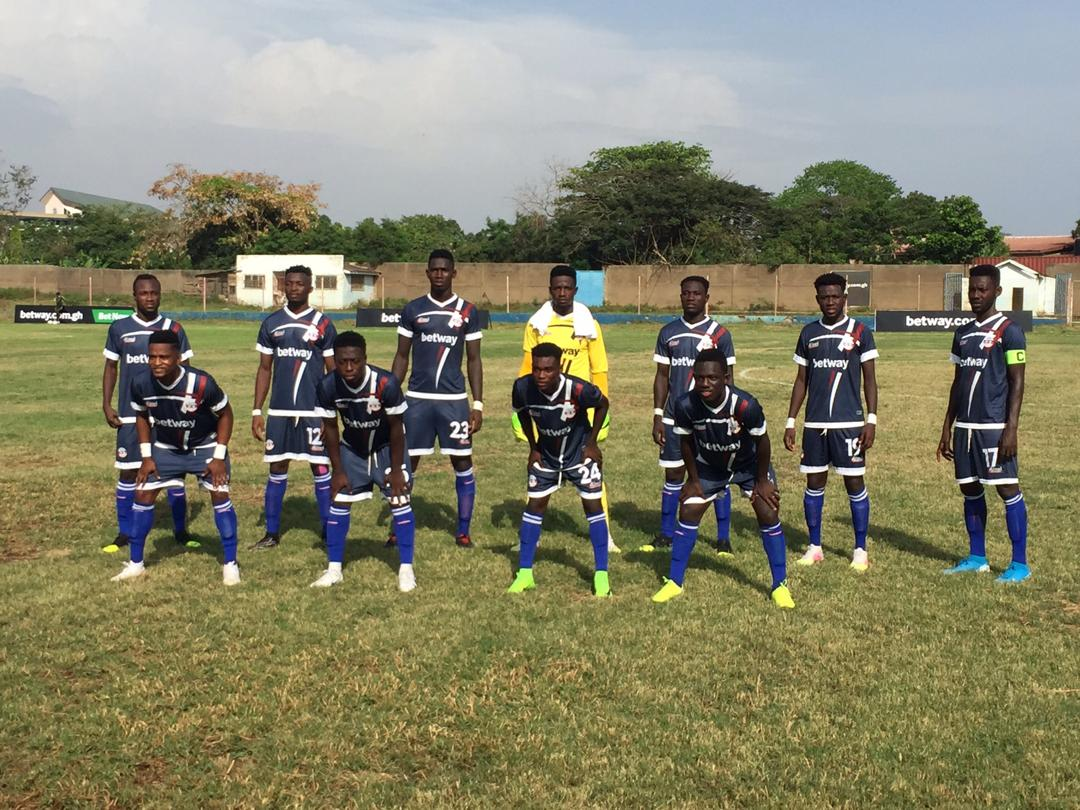 Liberty professionals drop points at home against Bechem United
