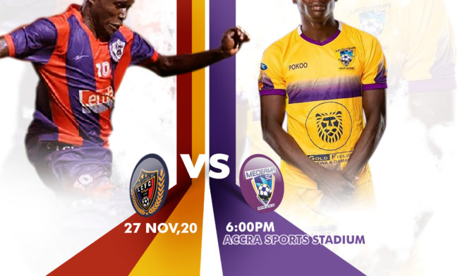 Bashir Hayford takes charge of first game against Medeama - Preview