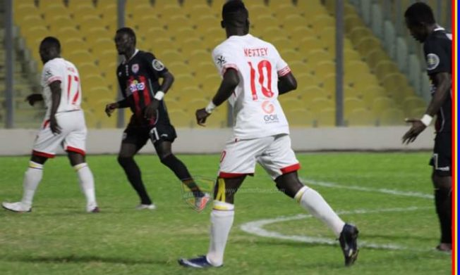 Lamptey strikes to win day for Inter Allies against Hearts of Oak
