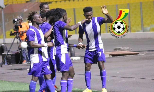 Great Olympics beat King Faisal to go level with leaders Karela United