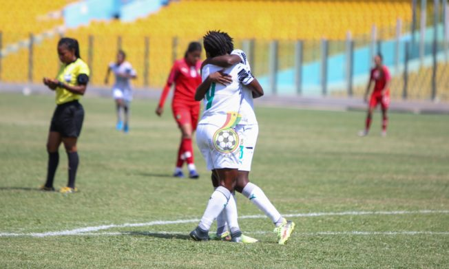 Pictures: Mukarama, Boaduwaa, Dede Teye score to give Ghana win over Morocco