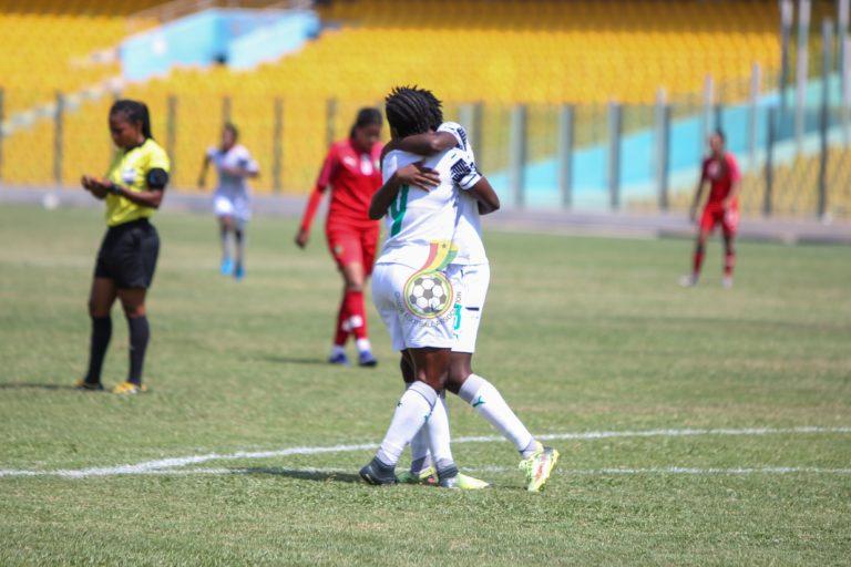 Pictures: Mukarama, Boaduwaa, Dede Teye score to give Ghana win over Morocco